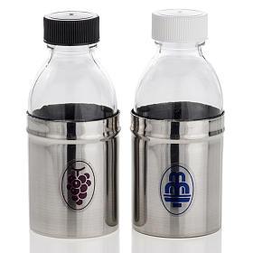 Bottigliette corazzate acqua e vino, coppia 30 cc s1