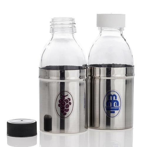 Buteleczki opancerzone woda i wino zestaw 30 cc 2