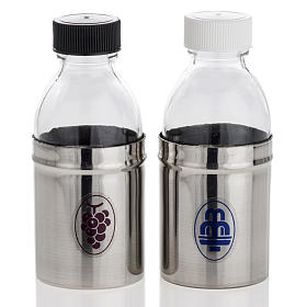 Cruets with hermetic lid, water and wine 30 ml s1