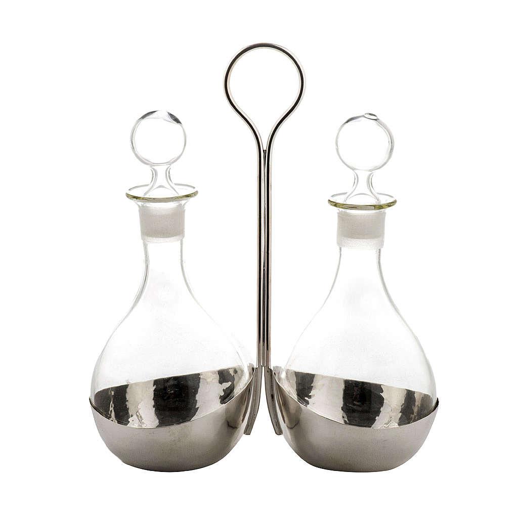Ampułki szkło ze stojakiem model Globulus 4