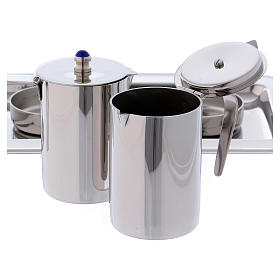 Molina cruets set for mass celebration in stainless steel s5