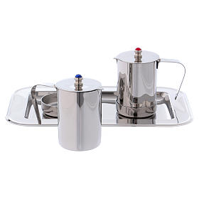 Molina cruets set for mass celebration in stainless steel s4