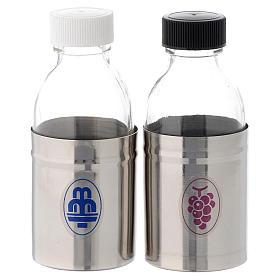 Bottiglie corazzate acqua e vino coppia 125 ml s1