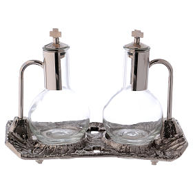 Ampolle con vassoio nichel fuso s3