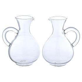 Ewer in glass Palermo model 140 ml, 2 pcs s1