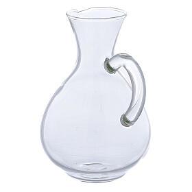 Ewer in glass Palermo model 140 ml, 2 pcs s2