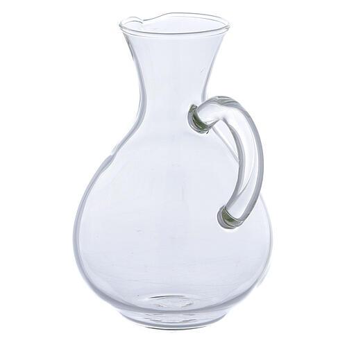 Ewer in glass Palermo model 140 ml, 2 pcs 2