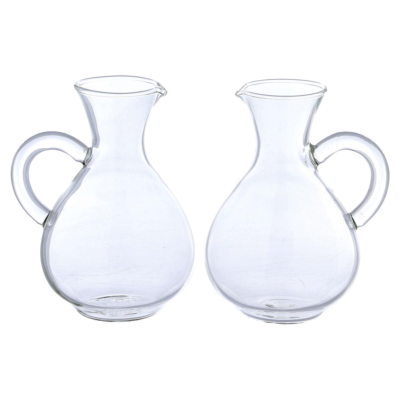 Jarritas de vidrio modelo Palermo 2 piezas 4