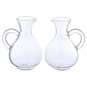 Jarritas de vidrio modelo Palermo 2 piezas s1