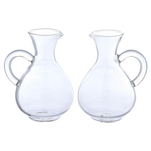 Jarritas de vidrio modelo Palermo 2 piezas 1