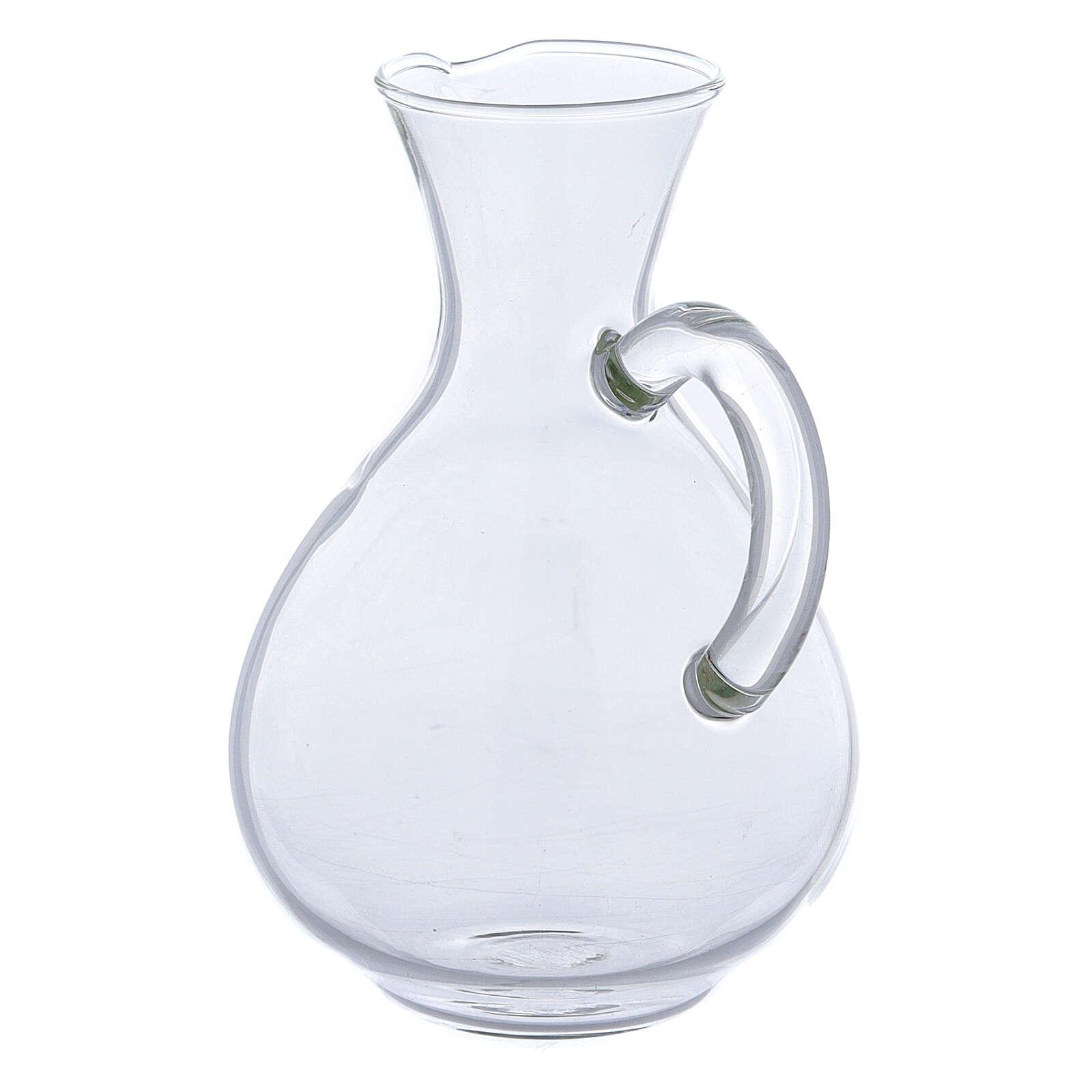 Palermo glass cruets set of 2 4