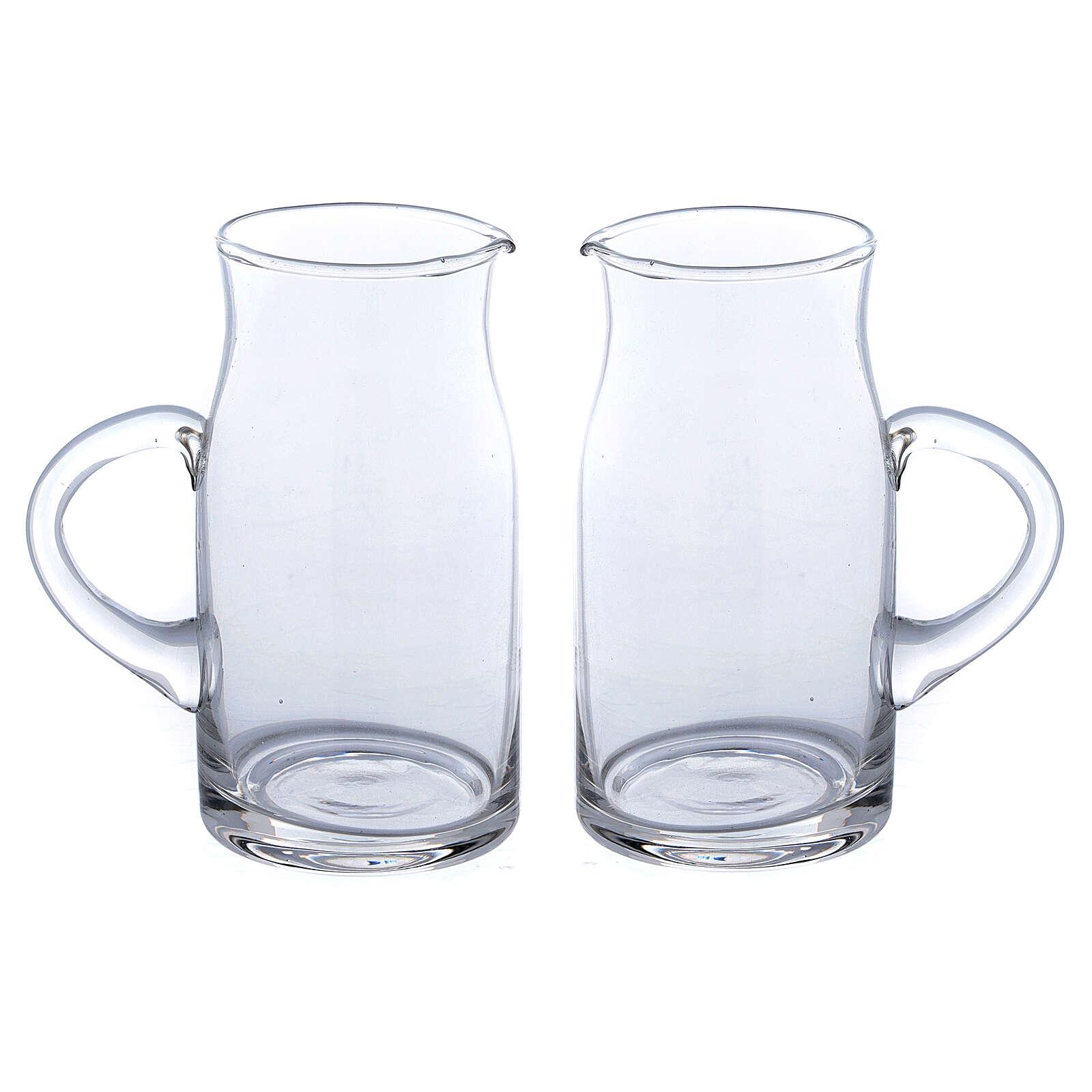 Ewer in glass Fiesole model 130 ml, 2 pcs 4