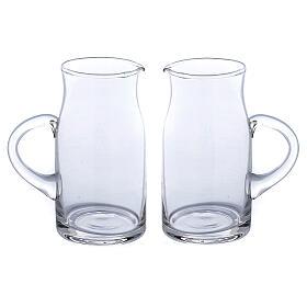 Ewer in glass Fiesole model 130 ml, 2 pcs s1