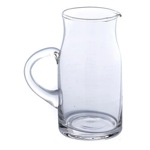 Ewer in glass Fiesole model 130 ml, 2 pcs 2