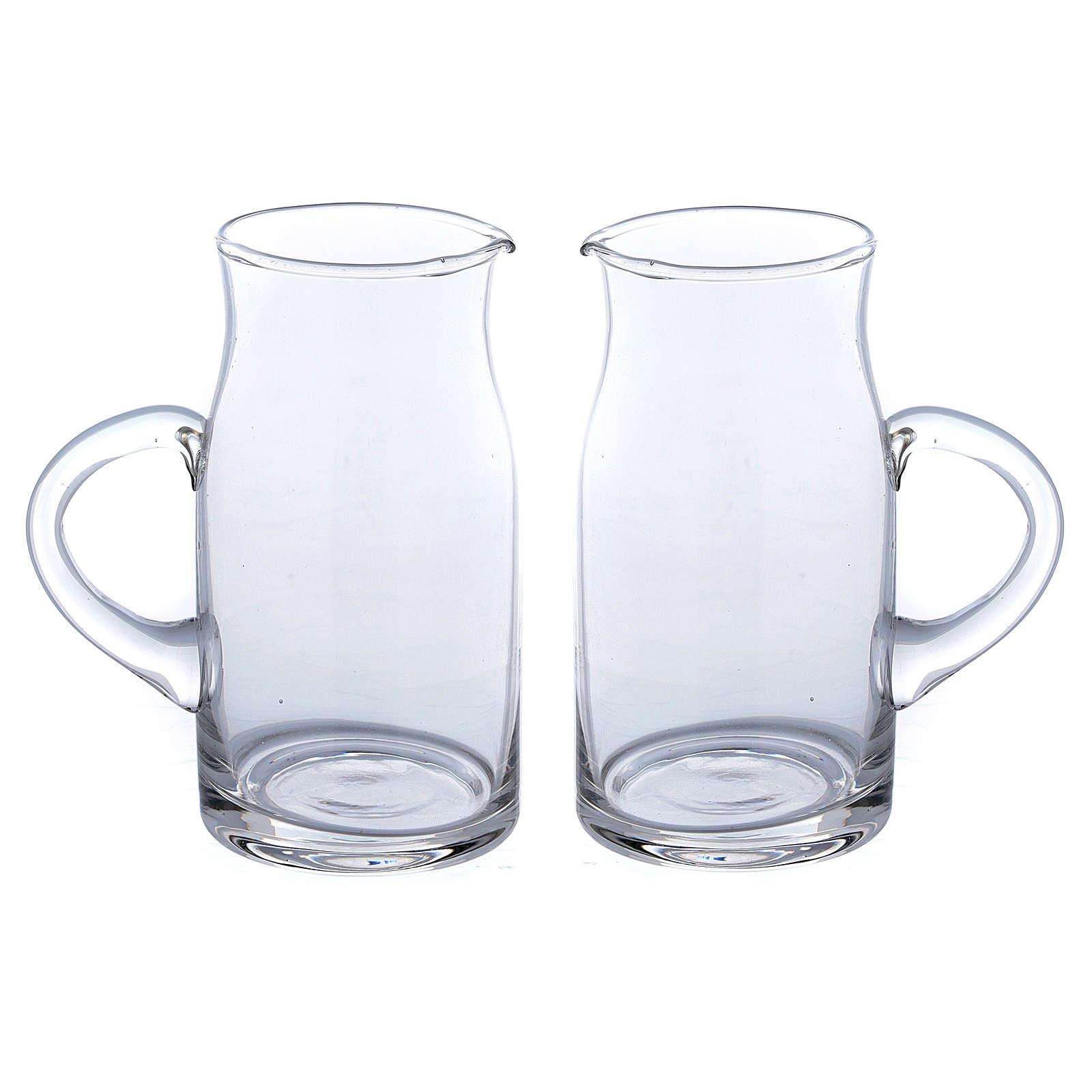 Set jarritas vidrio impreso Fiesole 2 piezas 4