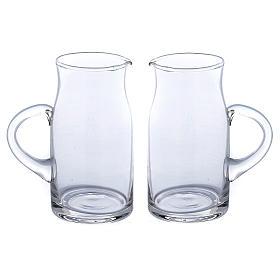Set jarritas vidrio impreso Fiesole 2 piezas s1
