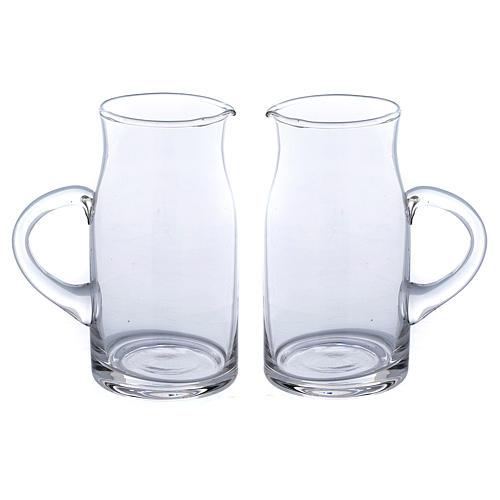 Set jarritas vidrio impreso Fiesole 2 piezas 1