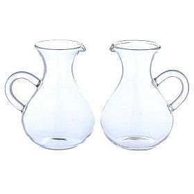 Galhetas vidro modelo Roma bojudas 130 ml s1