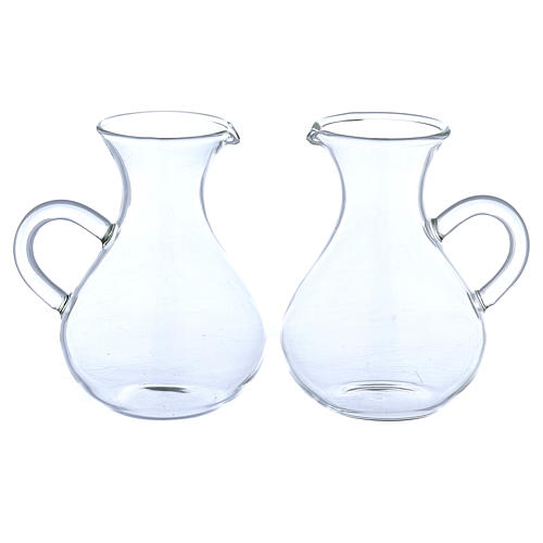 Galhetas vidro modelo Roma bojudas 130 ml 1