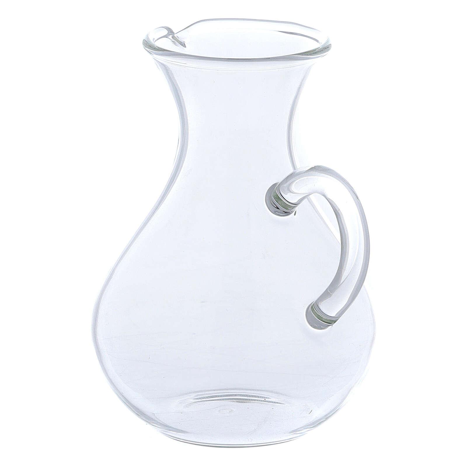 Glass Rome cruets wide bottom 130 ml 4
