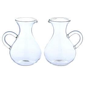 Glass Rome cruets wide bottom 130 ml s1