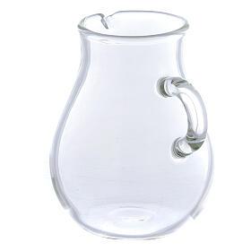 Round ewer in glass 110 ml, 2 pcs s2