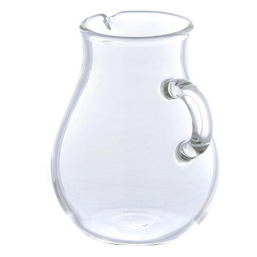 Round ewer in glass 110 ml, 2 pcs 2