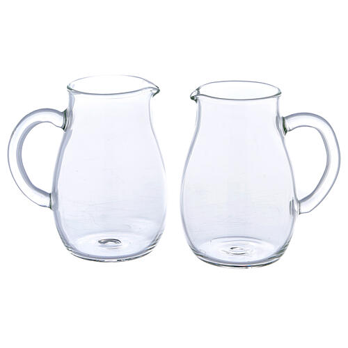 Round ewer Como model 160 ml, 2 pcs 1