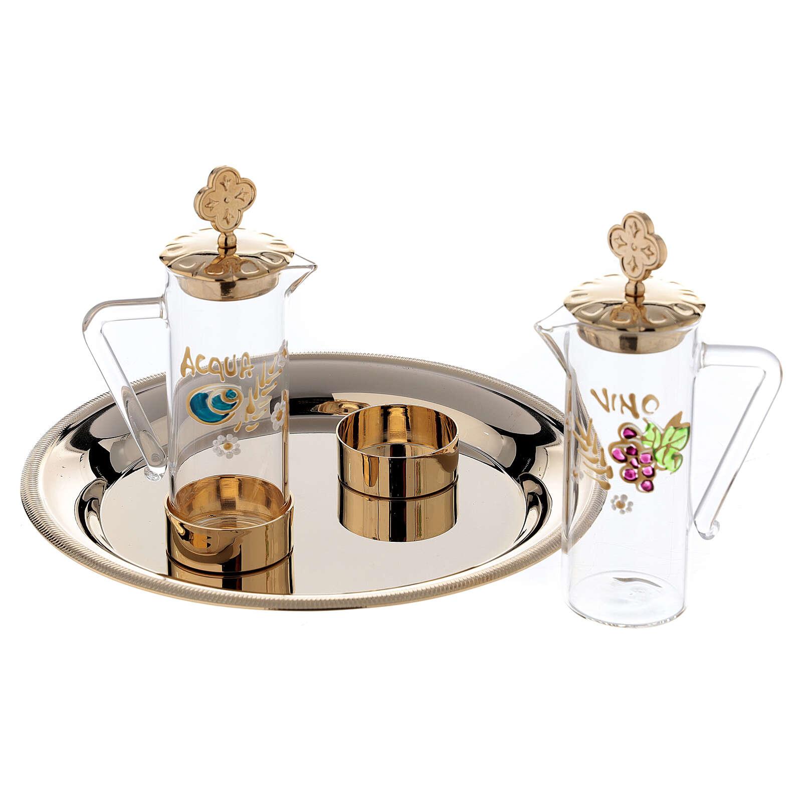 Servizio per manutergio acqua e vino mod. Ravenna 4
