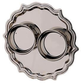 Palermo cruet set in silver plated brass 75 ml s4