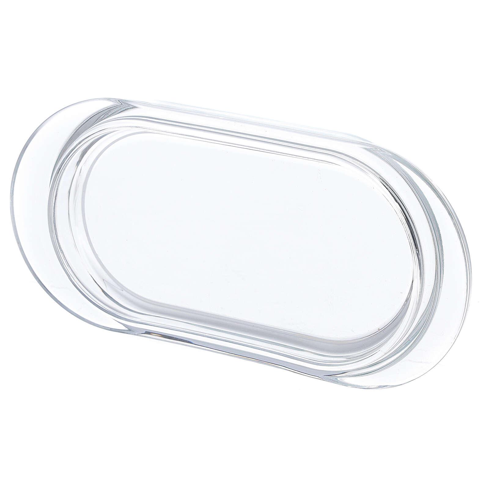 Burettes de messe Parme avec plateau en verre 75 ml 4
