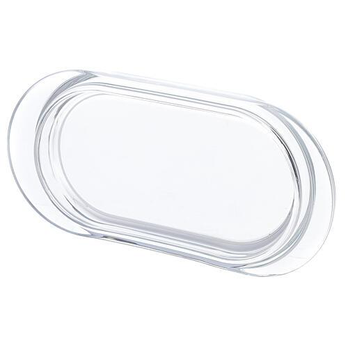 Burettes de messe Parme avec plateau en verre 75 ml 3