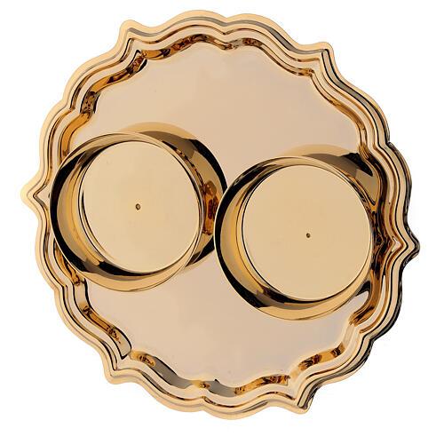 Palermo cruets in 24-karat gold plated brass 4