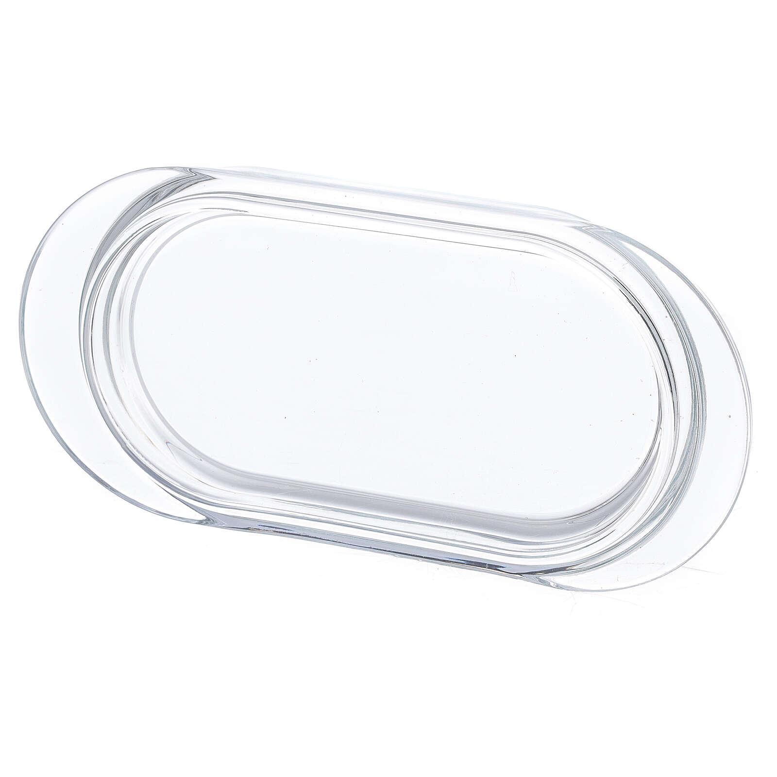 Burettes avec plateau en verre Parme 75 ml peintes à la main 4