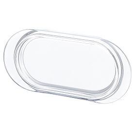 Burettes avec plateau en verre Parme 75 ml peintes à la main s3