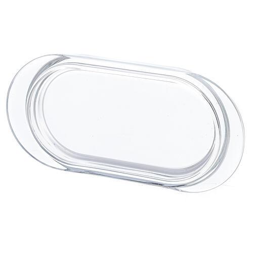 Burettes avec plateau en verre Parme 75 ml peintes à la main 3