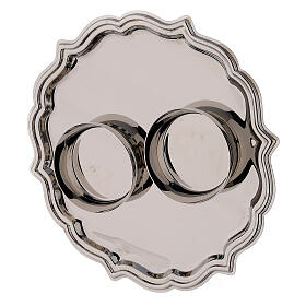 Set pareja vinajeras Venecia vidrio decoraciones a mano ml 200 s4