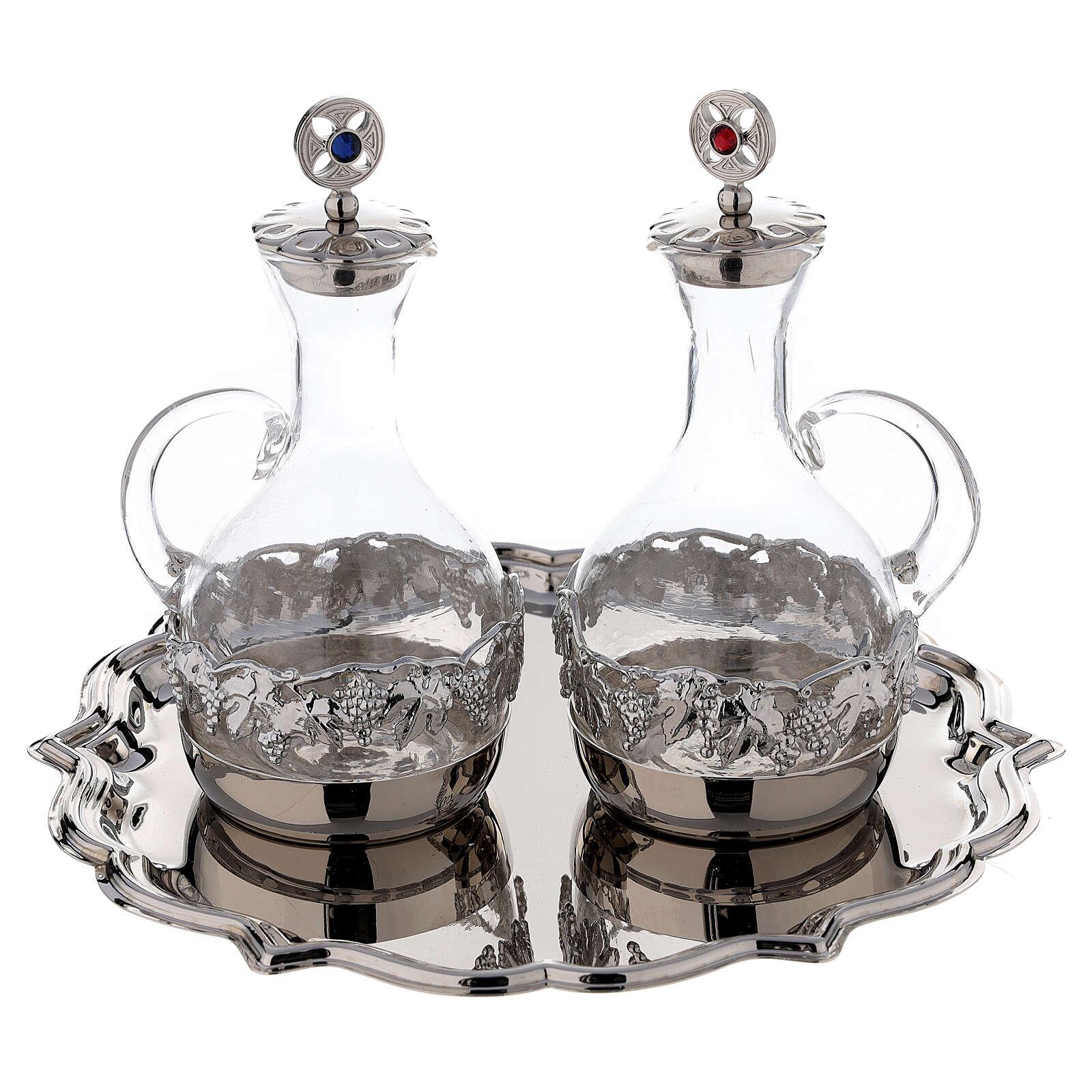 Set coppia ampolline Venezia vetro decorazioni a mano ml. 200 4