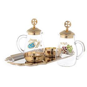 Set of Como cruet 24-karat gold plated brass 160ml s2