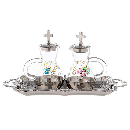 Pair of pitchers Parma model for water and wine 75 ml 1