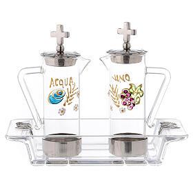 Set burettes eau et vin modèle Ravenne 60 ml s1