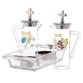 Set burettes eau et vin modèle Ravenne 60 ml s2
