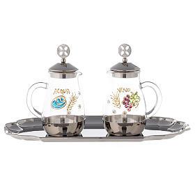 Como silver-plated brass cruets 160 ml s1