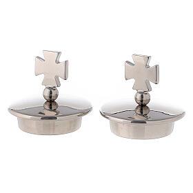 Coppia tappi croce di Malta per brocchette modello Roma s1