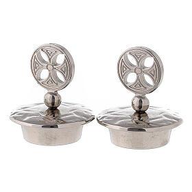 Pair of caps for round cross Venezia-Roma model jugs s1