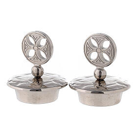 Lids for mass cruets Venise-Rome models round cross s1