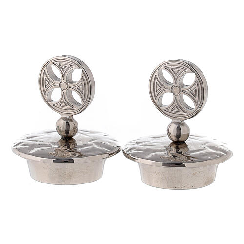 Lids for mass cruets Venise-Rome models round cross 1