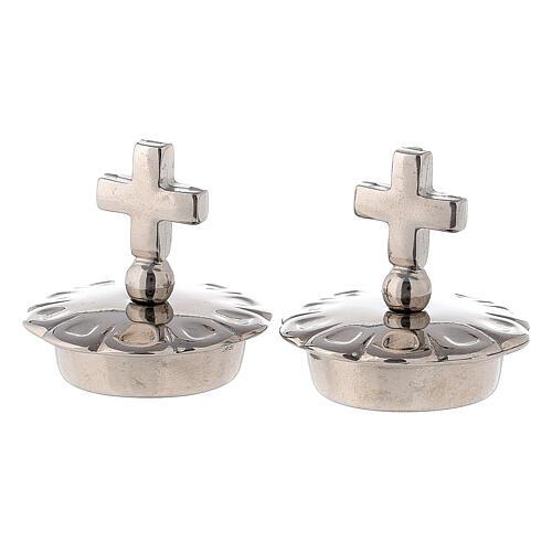 Bouchons croix simple pour burettes Palerme - Ravenne - Parme 1