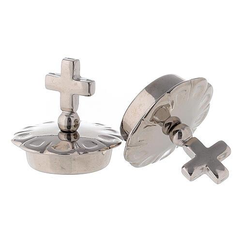 Bouchons croix simple pour burettes Palerme - Ravenne - Parme 2
