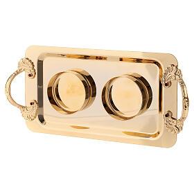 Fiesole cruets set of 24-karat gold plated brass s4